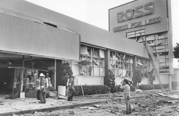 Ross store explosion