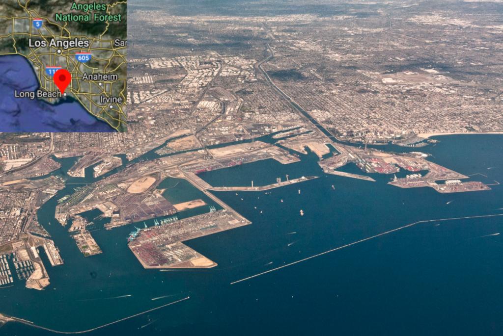 Long Beach air pollution