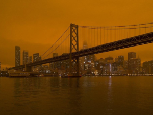Preliminary data suggests wildfire smoke exposure leads to an increase in Covid19 cases