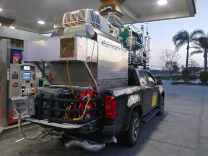 BRI and The Aerospace Corporation Deploy to The Ports of Los Angeles and Long Beach for Air Quality Surveys